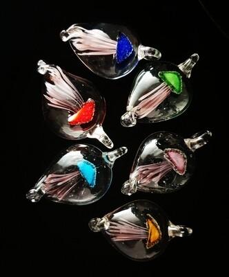 Jellyfish Pendant * Glow in the Dark