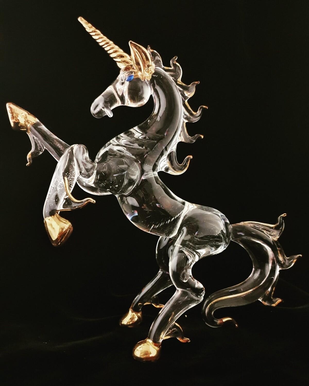 Rearing Extra Large Unicorn* 24crt