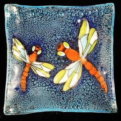 Dragonfly Slump Plate*