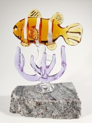 ClownFish -Nemo- on Granite Base