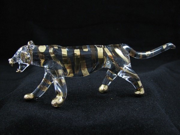 Tiger - 24crt Gold Trim Highlight