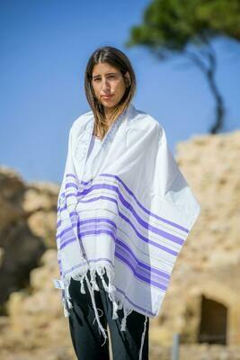 PURPLE -Small Tallit (Prayer Shawl)