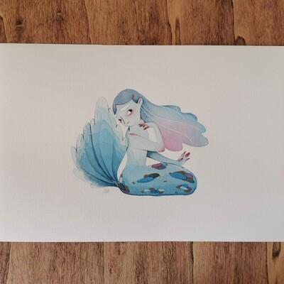 Singer mermaid