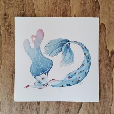 Bored Mermaid