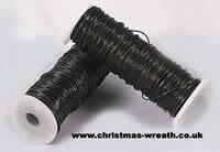 Wreath binding wire