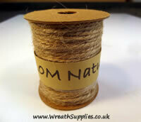 Natural hemp string 10m spool