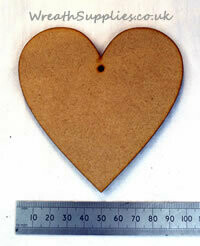 Wooden shapes MDF approx 10cm hand made locally, finished & decorated by you!