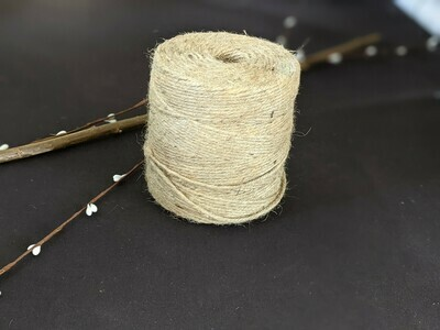 Natural string and twine