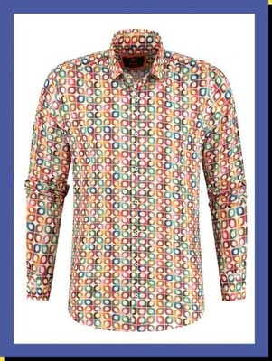 BB Chum shirt Retro Tiles