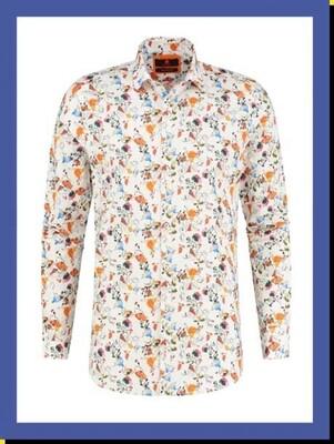 BB Chum shirt Bright Leaves