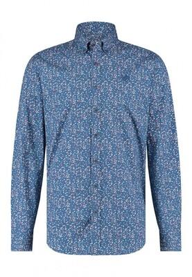 Bluefields shirt 21431013 kobalt
