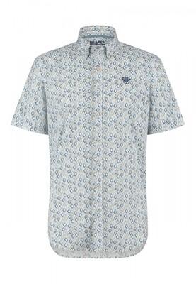 Bluefields shirt 26431008 grijsblauw