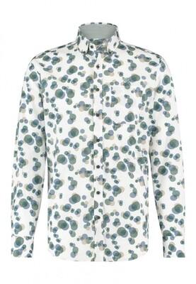 Bluefields shirt 21431015 donkergroen