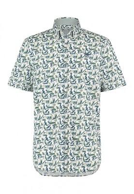 Bluefields shirt 26431017 donkergroen
