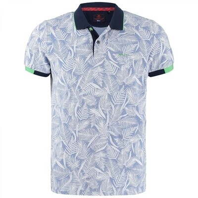 NZA polo 21CN120 Cosmic Blue