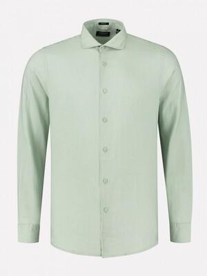 Dstrezzed linnen shirt 303426 groen