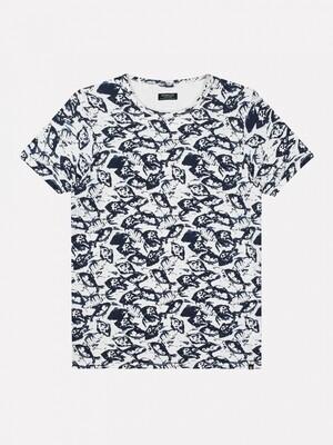 Dstrezzed t-shirt 202614 wit