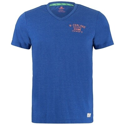 NZA t-shirt 21CN713 Sky Cobalt