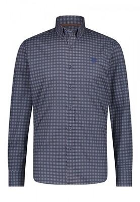 Bluefields shirt 21441001 donkerblauw