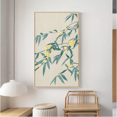 Flowers Abstract Wall Art