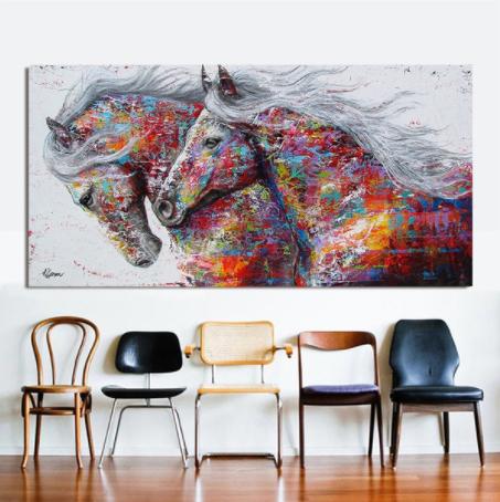 Caballo Colorido Wall Art
