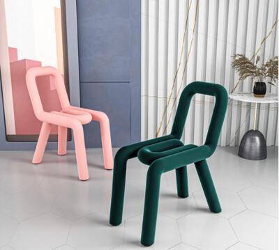 Custom Made Paper Clip Design Chair