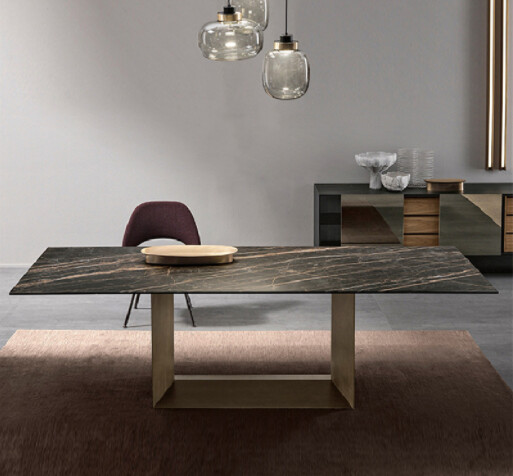Custom made Modern Design Dining Table, Meeting Table with Marble