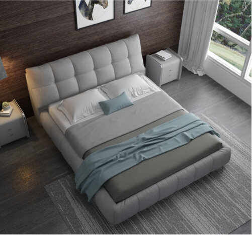 Custom Made Bed Frame with Storage