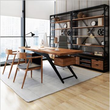Custom Made Latest Design Workstation & Shelving
