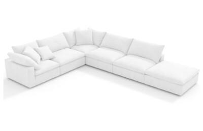 Custom Made Picasso L Shape Sofa