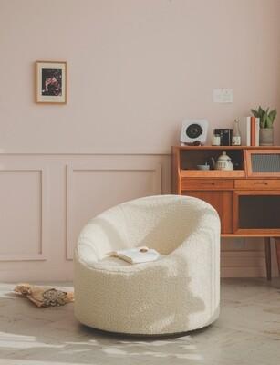Custom Made Alexis Lounge Chair