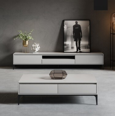 Custom Made Quil TV Cabinet & Coffee Table (Set)