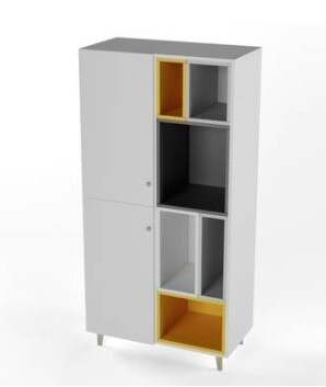 Custom Made Tetra Cupboard