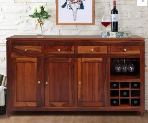 Custom Made Valen Wooden Cabinet
