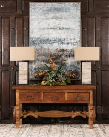 Custom Made Antique Console Table