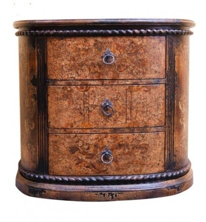 Custom Made Antique Side Table