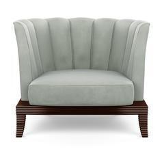 Custom Made Burgundy Chair