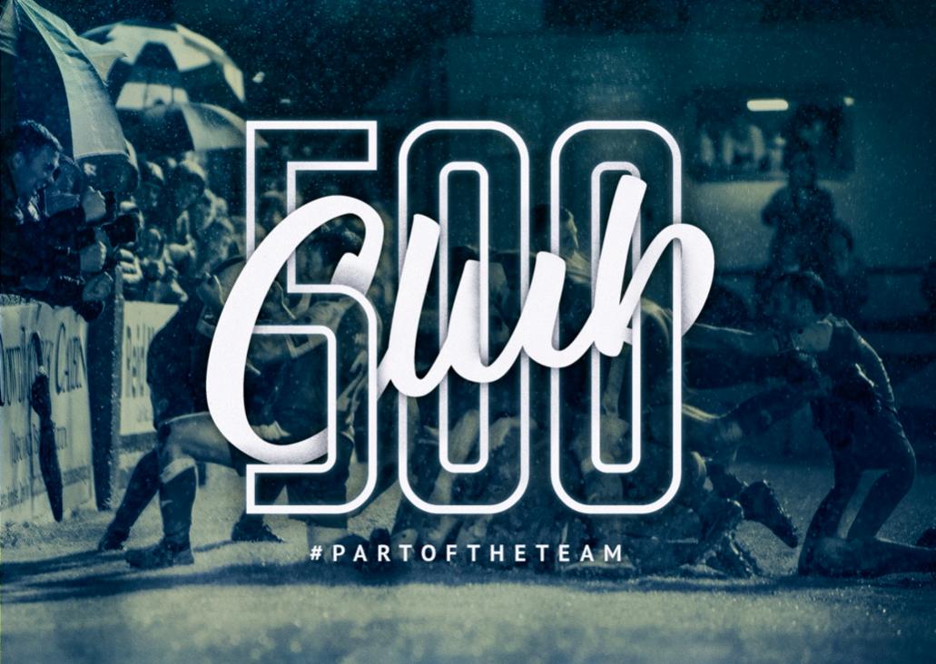 500 Club Monthly Recurring Membership