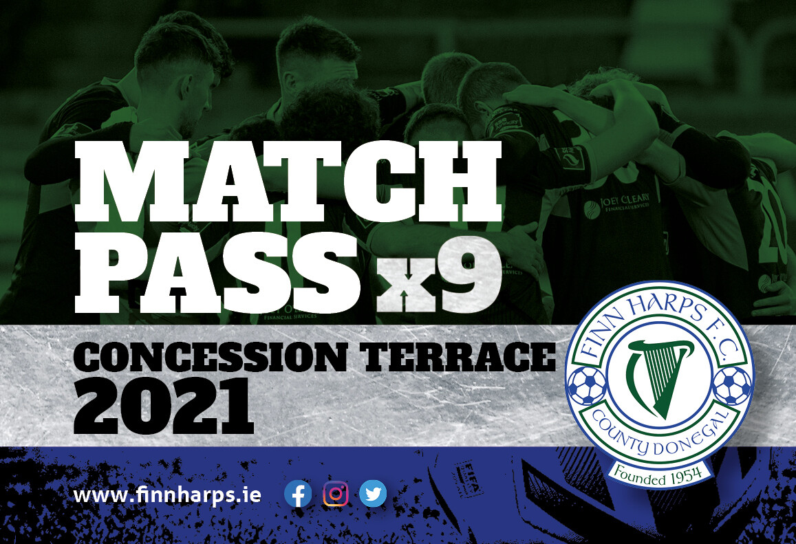 Concessionary Match Pass (Terrace)