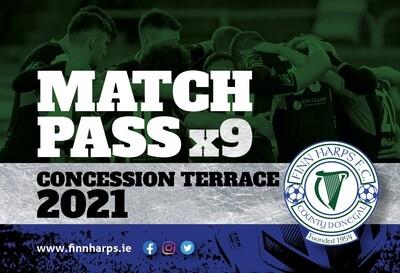 Concessionary Match Pass (Terrace)