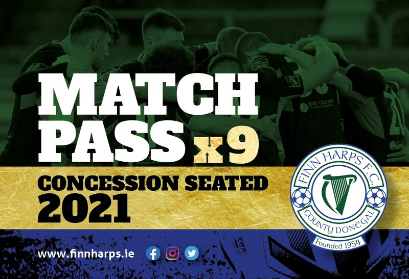 Concessionary Match Pass (Seated)