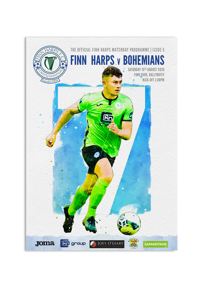 Issue 5 2020, Finn Harps v Bohemians Programme
