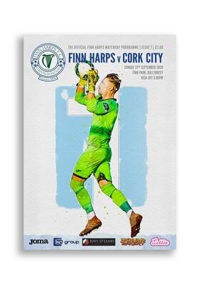 Issue 7 2020, Finn Harps v Cork City Programme