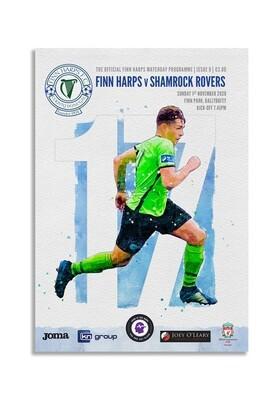 Issue 9 2020, Finn Harps v Shamrock Rovers Programme
