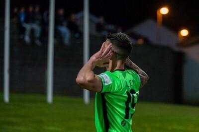 Photo Print : Adam Foley Celebrates : Derry City v Finn Harps