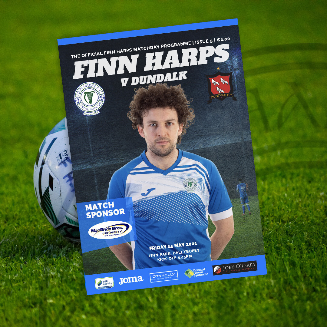 Issue 5 2021, Finn Harps v Dundalk Programme