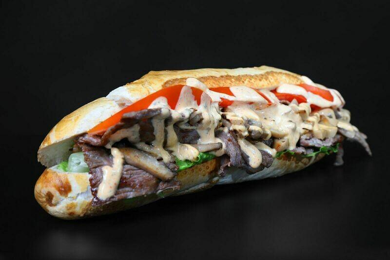 Steak sandwich- baguette