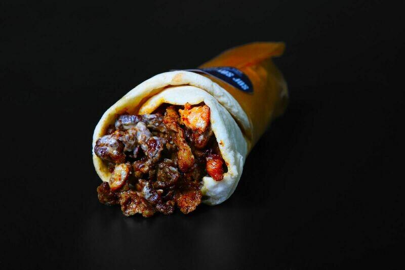 Shawarma Beef Lamb laffa
