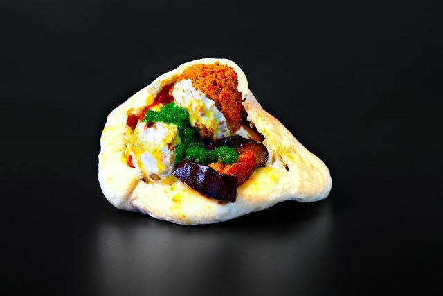 Falafel- pita