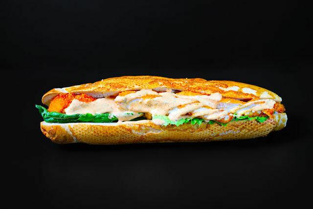 Schnizel- baguette